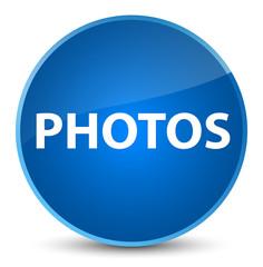 Photos elegant blue round button
