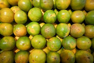 Mandarin Oranges in market