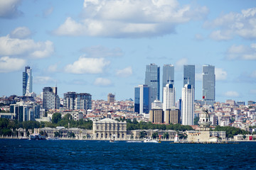 City view from Istanbul 2017