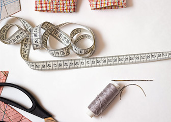 Sewing, repairing things yourself. Yourself fashion.