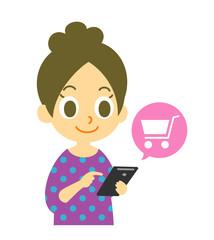 スマホ オンラインショッピング
