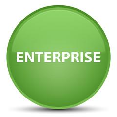 Enterprise special soft green round button