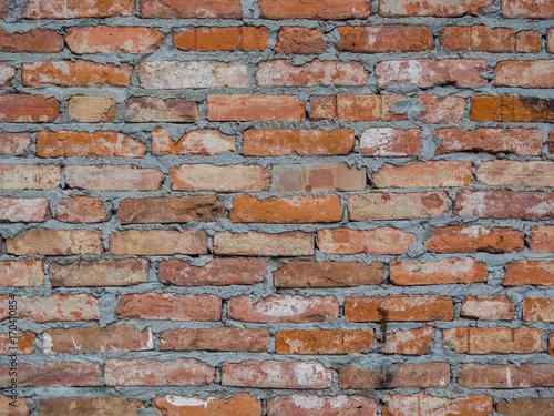 backsteinmauer alte als hintergrundbild tapete