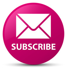 Subscribe (email icon) pink round button