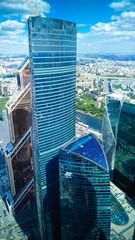 Moscow City panoramic views