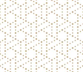 seamless geometric triangle hexagon grid pattern