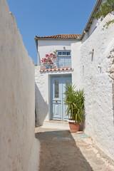 Romantic streets of Hydra island