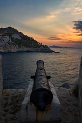 Cannon of Hydra island