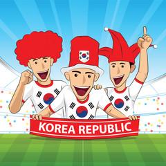 korea republic football support