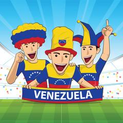 venezuela football support