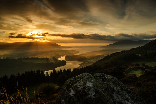Illuminated by an Amazing Sunlight - Warrenpoint, Flagstaff, Newry County Down, Northern Ireland, United Kingdom