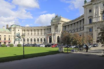 Fototapete - Wien, Neue Hofburg