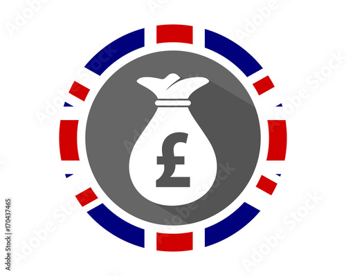 British Pound Sterling Sack Currency Symbol Money Image Icon Vector