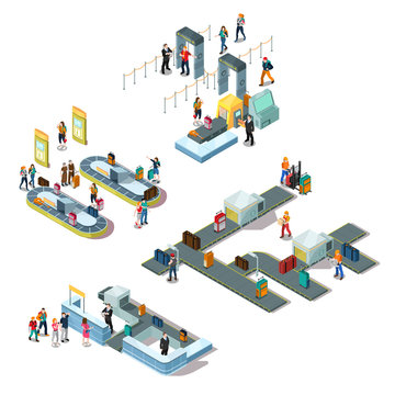 Airport Isometric Compositions