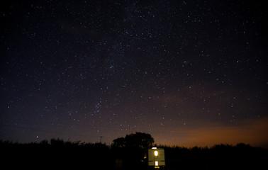 Night Sky, Vallet of the Rocks, Lynton, Exmoor, UK
