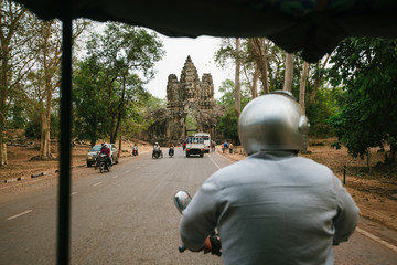 Cambodia Angkor tuk-tuk