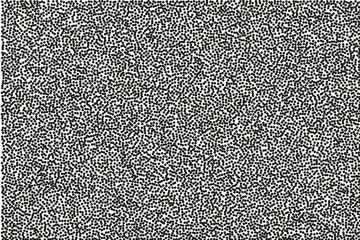 Random halftone. Pointillism style. Background with irregular, chaotic dots, points, circle.