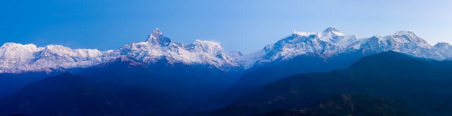 Panoramic Landscape Annapurna Himalaya Range Wall mural