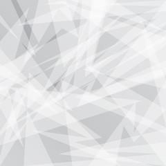 Abstract Grey geometric background with triangles