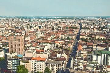 Milano Centrale dall'alto