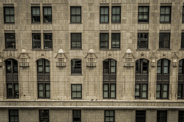 Facade of classic building