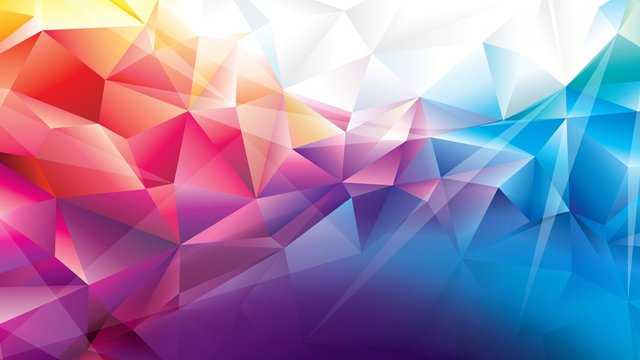 Fondo abstracto colores prismas