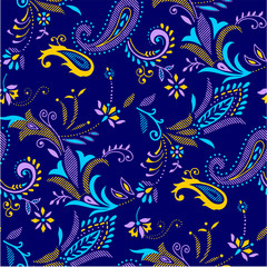 paisley pattern for textile and wrapping use