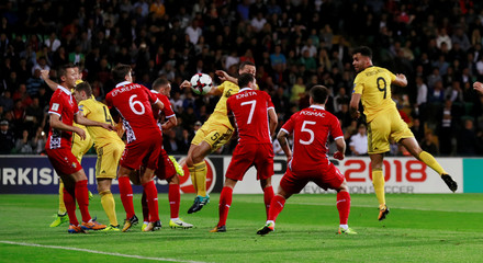 2018 World Cup Qualifications - Europe - Moldova vs Wales