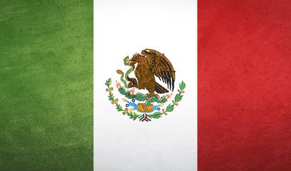 Mexico flag texture