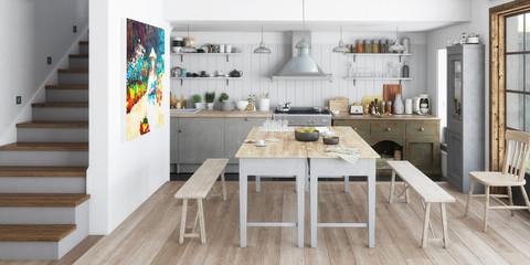 Küche: aus alt mach neu (panoramisch)