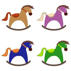 Children's rocking horse, children's toy