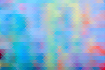 Mosaic abstract background. Colorful wallpaper. Pixel image.