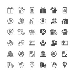 Gift icons, included normal and enable state.