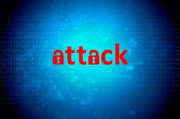 attack padlock
