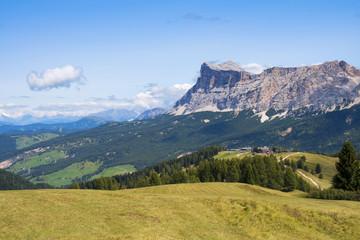 Dolomite Alps: Cavallo mountain and Piz Sorega, Alta Badia, Italy