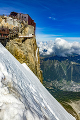 Wall Murals Northern Europe Mont Blanc Massif In The French Alps