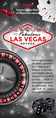Welcome to Las Vegas flyer