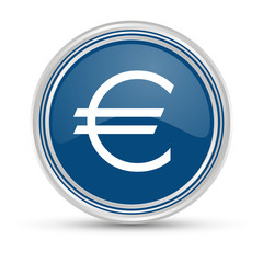 Blauer Button - Euro