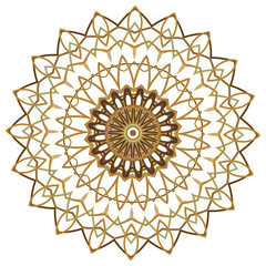 Colorful Mandala. Ethnic tribal ornaments