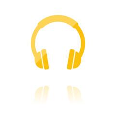 Farbiges Symbol - Kopfhörer