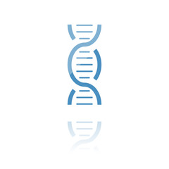 farbiges Symbol - DNA