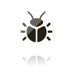 farbiges Symbol - Käfer