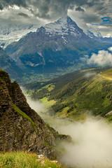 Obraz Grindelwald Alps - fototapety do salonu
