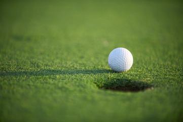 Golf ball close up Wall mural