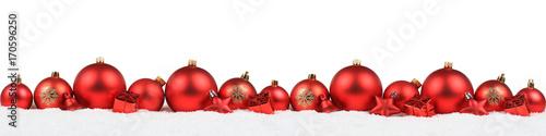 weihnachten rot weihnachtskugeln banner dekoration. Black Bedroom Furniture Sets. Home Design Ideas