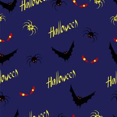 Halloween. seamless pattern