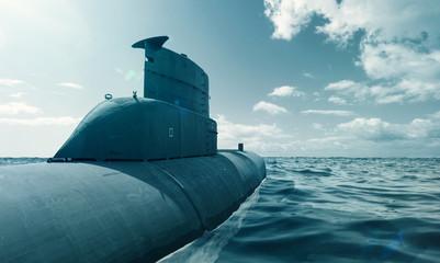 U-Boot auf dem Meer