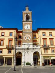 Fototapete - Rimini - The square Piazza tre Martiri