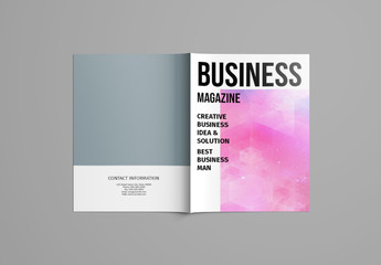 Minimalist Magazine Layout 1