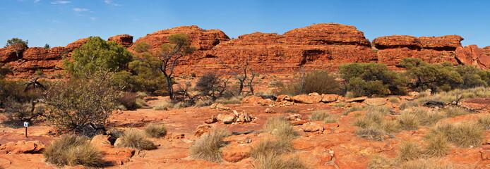 Foto op Canvas Canyon Kings Canyon NP in Australien